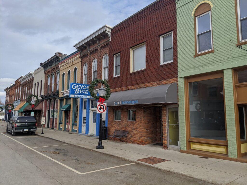 Downtown Elmore, Ohio